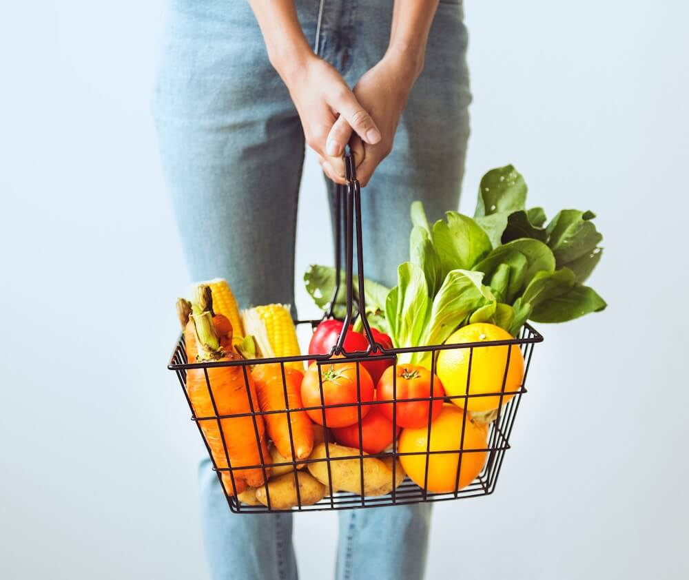 スーパーで買ってきた野菜